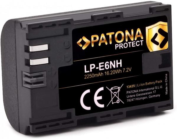 Patona Protect V1 Ersatz für Akku Canon LP-E6NH
