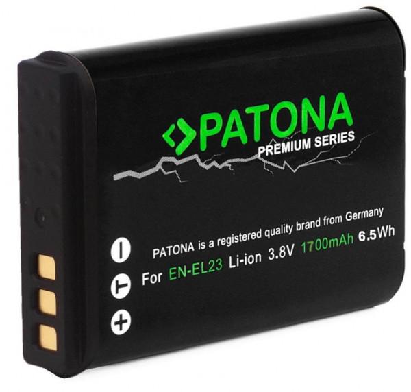 Patona Premium Ersatz für Akku Nikon EN-EL23