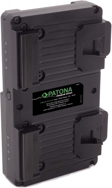 Patona Hot Swap V-Mount Platte für Micro/Compact VMount