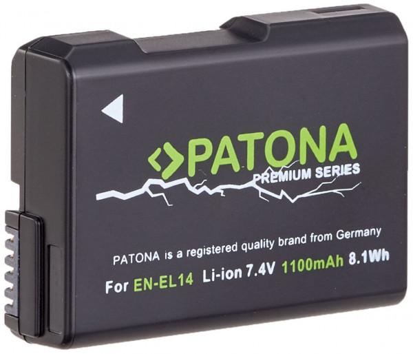 Patona Premium Ersatz für Akku Nikon EN-EL14