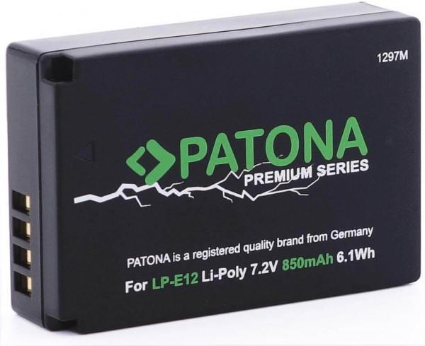 Patona Premium Ersatz für Akku Canon LP-E12