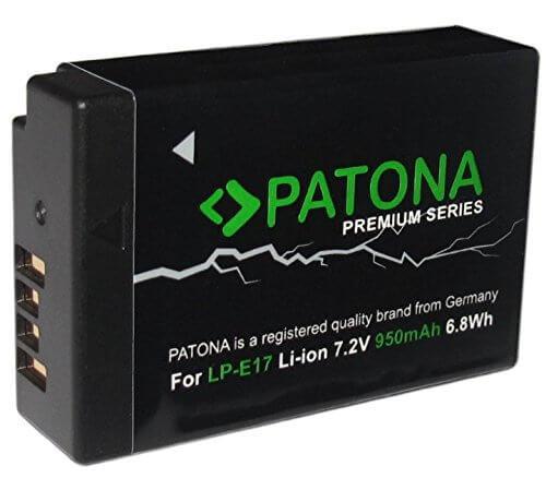 Patona Premium Ersatz für Akku Canon LP-E17
