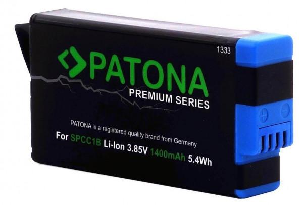 PATONA Platinum Ersatz für Akku GoPro Max SPCC1B (1400mAh)