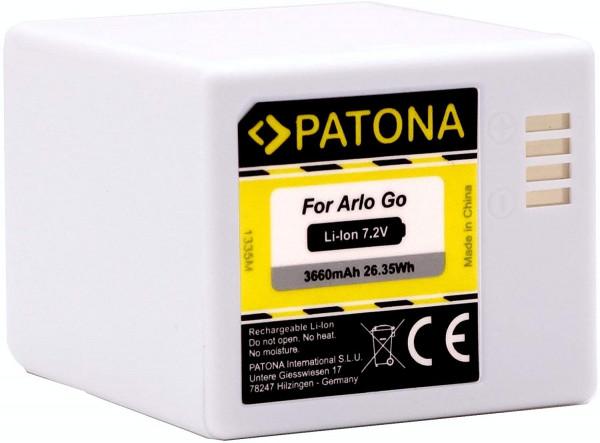 Patona Ersatz für Akku Arlo Go VMA4410