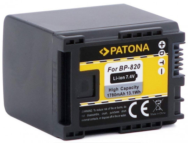 Patona Ersatz für Akku Canon BP-820