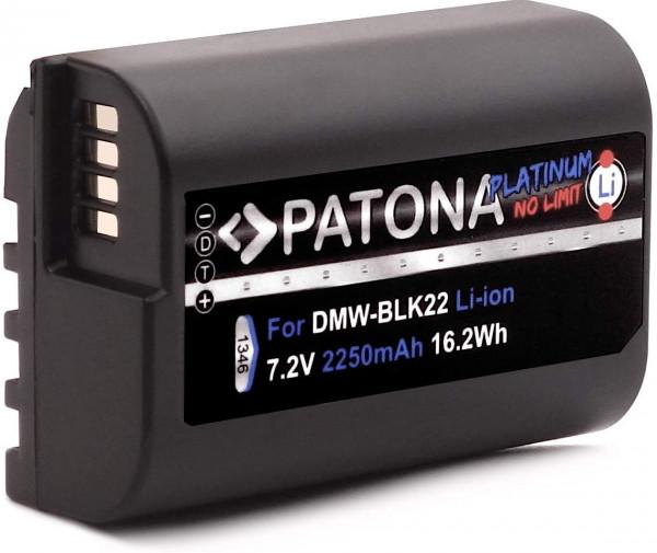 Patona Platinum Akku DMW BLK22 BLK22E (2250mAh)