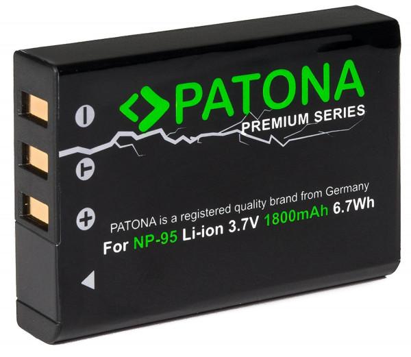 Patona Premium Ersatz für Akku Fujifilm NP-95