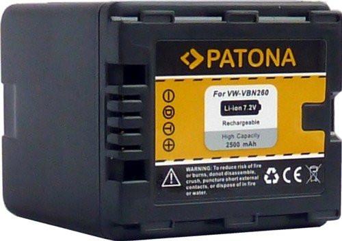 Patona Ersatz für Akku Panasonic VW-VBN260