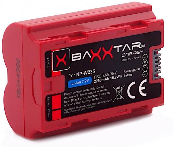 Baxxtar Pro Ersatz für Akku Fujifilm NP-W235