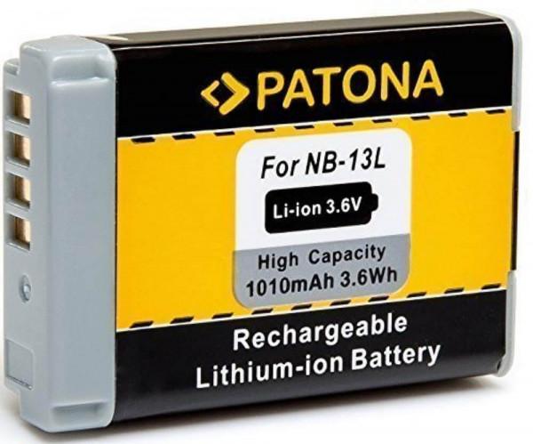 Patona Ersatz für Akku Canon NB-13L