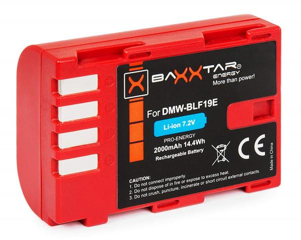 Baxxtar Ersatz für Akku Panasonic DMW-BLF19 / Sigma BP-61