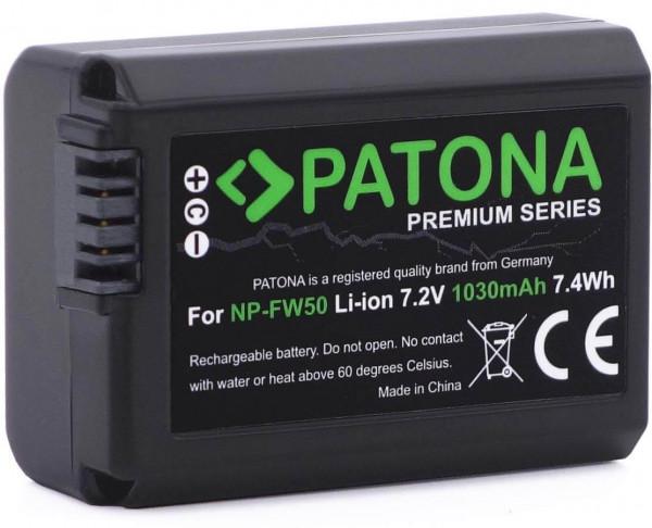 Patona Premium Ersatz für Akku Sony NP-FW50