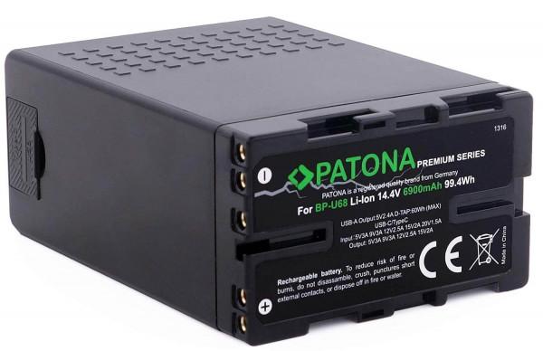 Patona Premium Ersatz für Akku Sony BP-U68