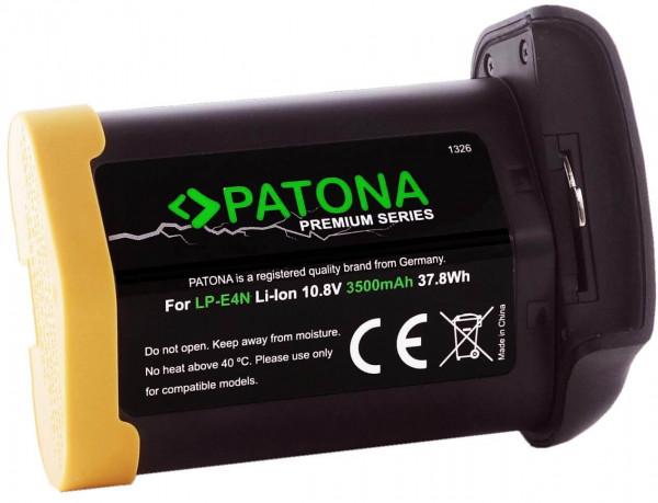 Patona Premium Ersatz für Akku Canon LP-E4N