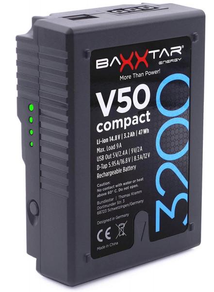 Baxxtar V-Mount Akku - V50 compact