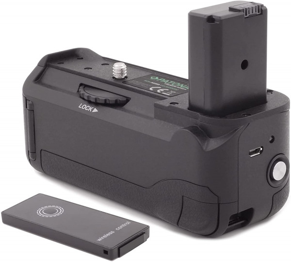 Patona Batteriegriff Ersatz für Sony VG-A6500