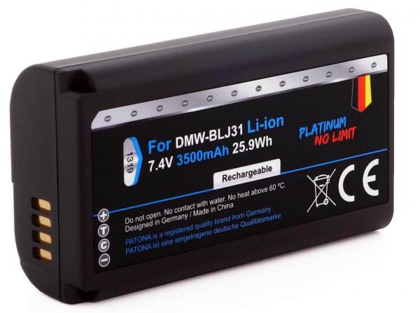 Patona Platinum Ersatz für Akku Panasonic DMW-BLJ31