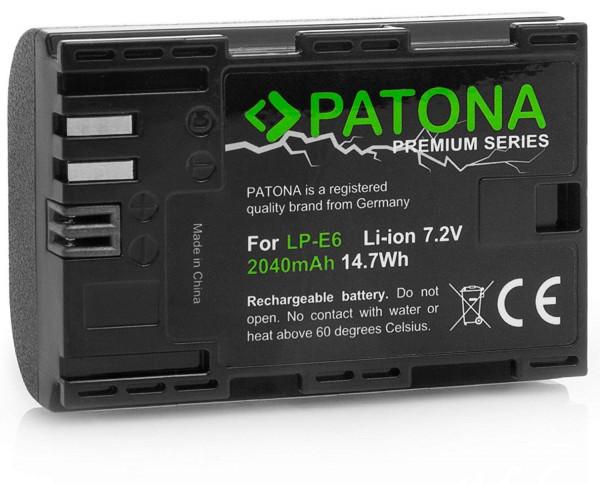 Patona Premium Ersatz für Akku Canon LP-E6
