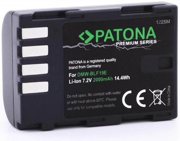Patona Premium Ersatz für Akku Panasonic DMW-BLF19 / Sigma BP-61