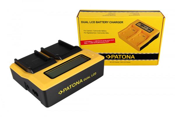 Patona Ladegerät für Canon Red BP-945