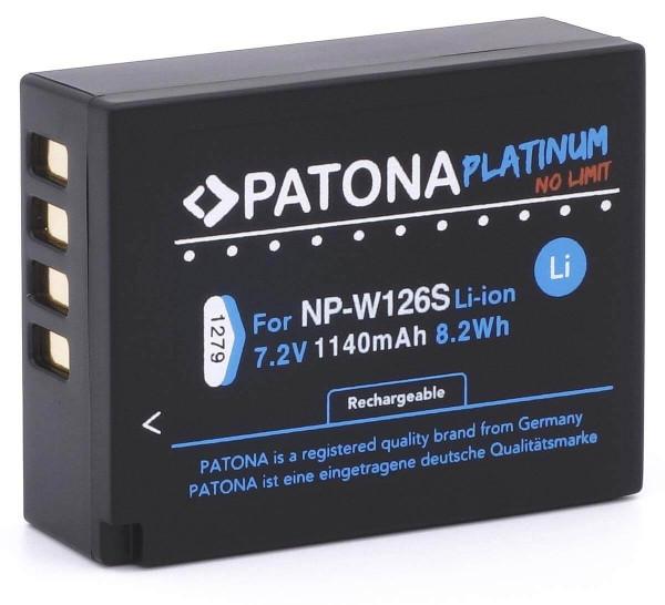Patona Platinum Ersatz für Fujifilm NP-W126S