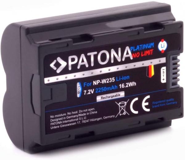 Patona Platinum Ersatz für Akku Fujifilm NP-W235