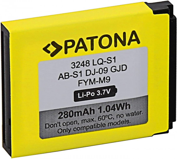 Patona Akku LQ-S1 für diverse Smartwatches
