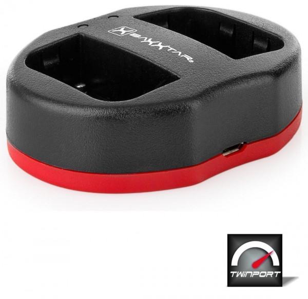 Baxxtar Twin Port für Akku Sony NP-FM500H NP-F550