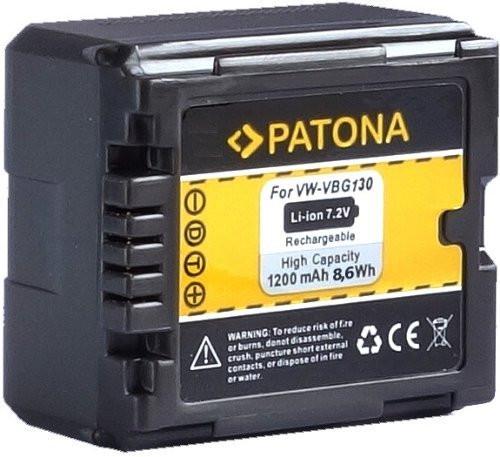 Patona Ersatz für Akku Panasonic VW-VBG130