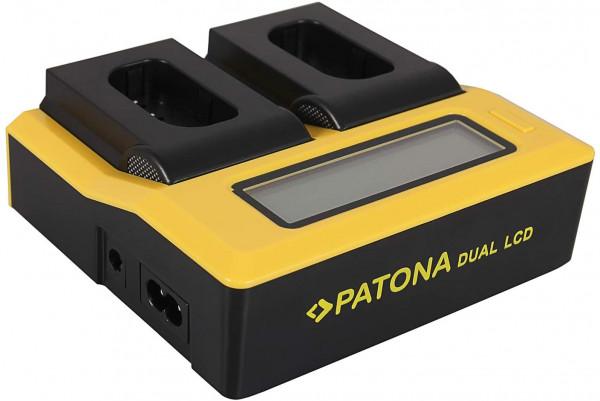 Patona Dual LCD Ladegerät DMW-BLJ31