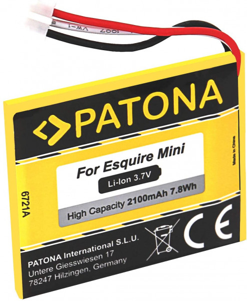 Patona Ersatz für Akku Harman Kardon P655252 kompatibel mit Esquire Mini