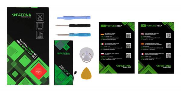 Patona Premium Ersatz für Akku Apple iPhone 8 8G 616-00357 inkl. Werkzeugset