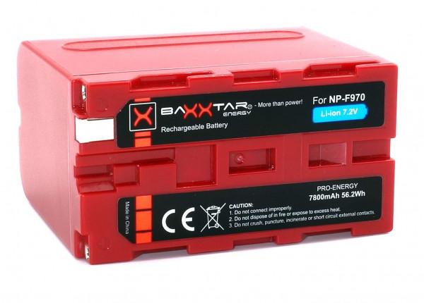 Baxxtar Ersatz für Akku Sony NP-F970