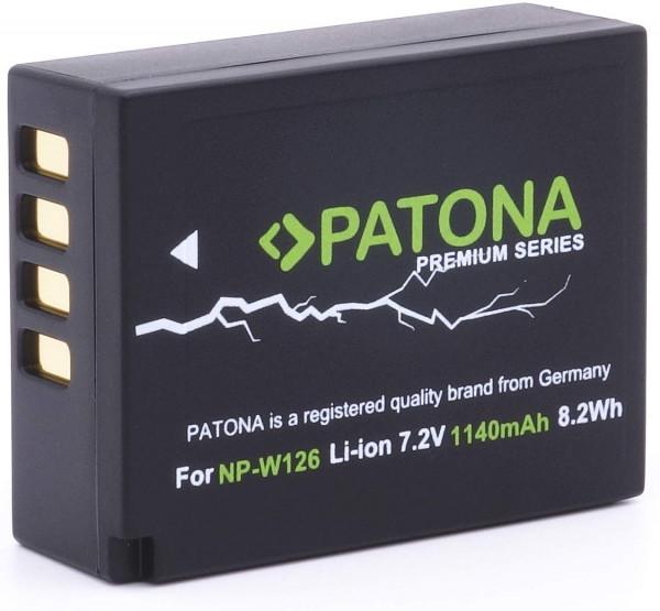 Patona Premium Ersatz für Fujifilm NP-W126