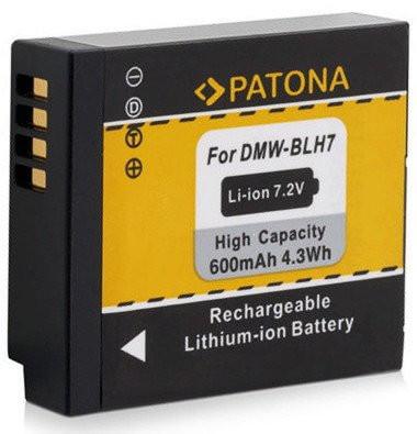 Patona Ersatz für Akku Panasonic DMW-BLH7E
