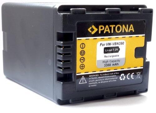Patona Ersatz für Akku Panasonic VW-VBN390