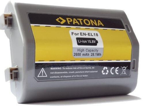 Patona Ersatz für Akku Nikon EN-EL18