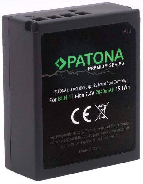 Patona Premium Ersatz für Akku Olympus BLH-1