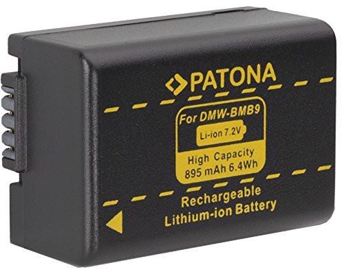 Patona Ersatz für Akku Panasonic DMW-BMB9