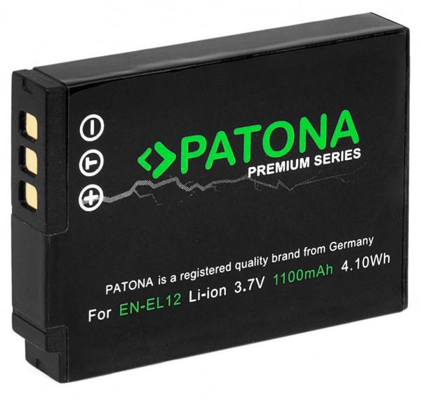 Patona Premium Ersatz für Akku Nikon EN-EL12