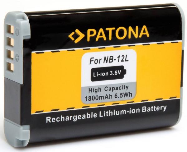 Patona Ersatz für Akku Canon NB-12L