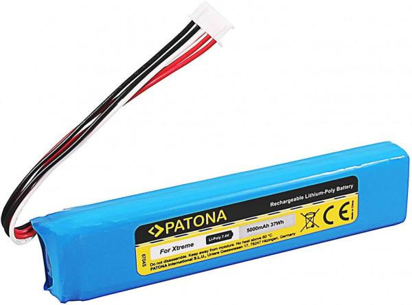 Patona Ersatz für Akku JBL GSP0931134 (5000mAh) für JBL Xtreme