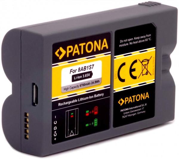 Patona Ersatz für Akku Ring Video Spotlight Cam und Doorbell2