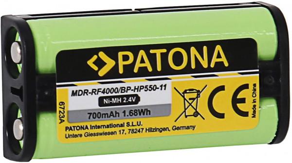 Patona Ersatz für Akku Sony BP-HP550-11 (700mAh)