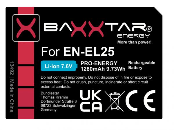 Baxxtar EN-EL25