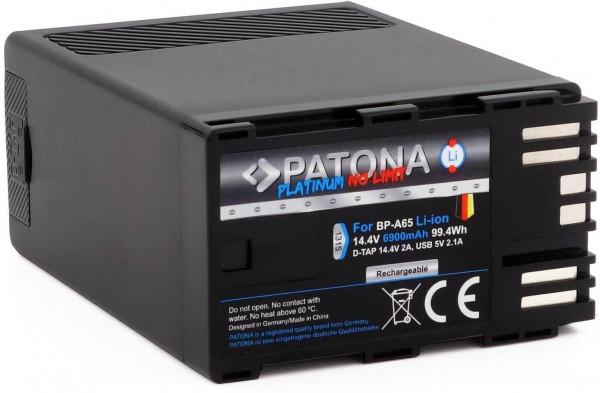 PATONA Platinum Ersatz für Akku Canon BP-A60 / BP-A65