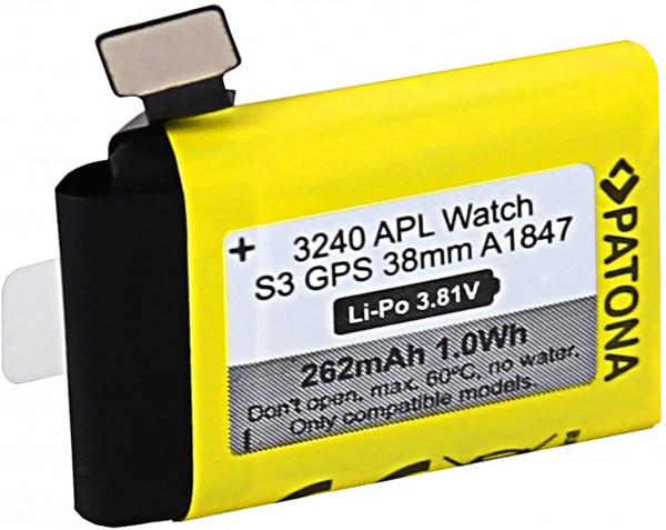 Akku für Apple Watch 3 GPS 38mm