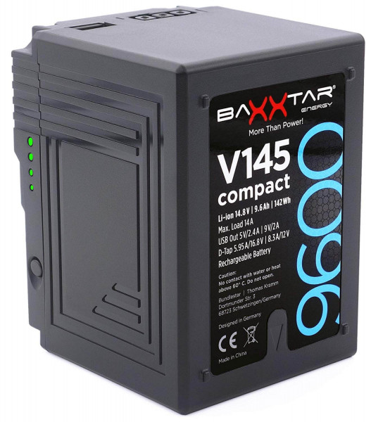 Baxxtar V-Mount Akku - V145 compact