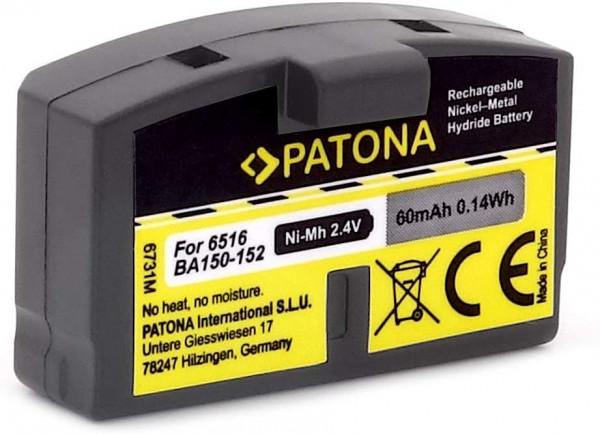 Patona Ersatz für Akku Sennheiser BA-150 BA-151 BA-152 AKG AP-97A und weitere