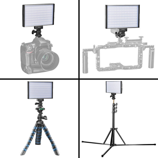 Walimex pro LED Niova 150 Bi Color On Camera 15W